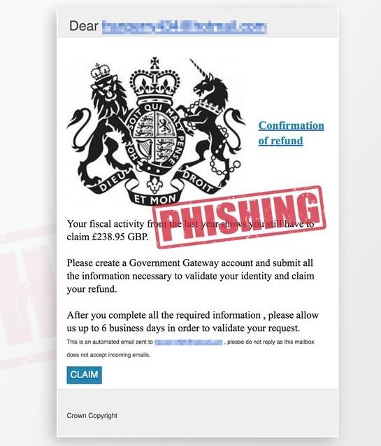 Fake HMRC emails 1